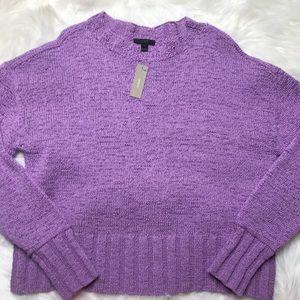 J. Crew   Purple Knit Sweater